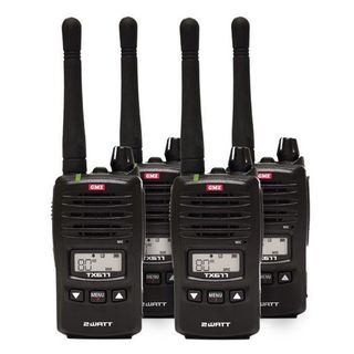 GME TX677QP UHF CB 2 Watt Radio - QUAD PACK DEAL