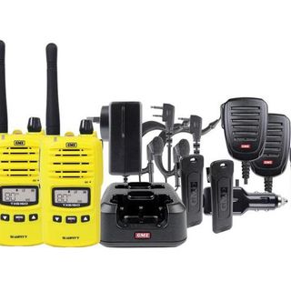 GME TX6160 UHF CB 5 Watt Radio - Tradie Pack - Orange, Yellow or Black